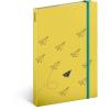 REALSYSTEM Design notesz - Paper plane, unlined, 13 x 21 cm