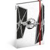 REALSYSTEM Design notesz - Star Wars – Tie, lined, 13 x 21 cm