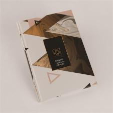 REALSYSTEM Hallgatói zsebkönyv, A5, heti, , márvány naptár, kalendárium