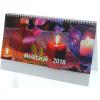 REALSYSTEM Képes asztali naptár - Meditáció álló 7941