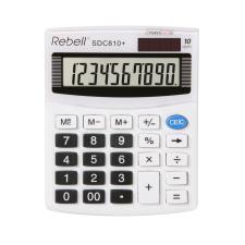 Rebell Számológép asztali SDC810+/SDC410 10digit Rebell számológép