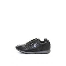 Refresh , Műbőr sneakers cipő, Fekete, 43 (64466-BLACK-43)