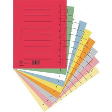 Regiszter, karton, A4, DONAU, vegyes színek 100 db/csomag regiszter és tartozékai