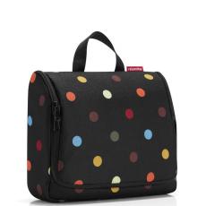 Reisenthel Toiletbag XL fekete pöttyös női kozmetikai táska neszeszer 806e32cc6b