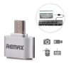 REMAX USB OTG adapter Remax ezüst