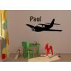 Repülő gyerekszoba falmatrica