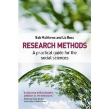 Research Methods – Bob Matthews idegen nyelvű könyv
