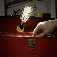 Retro COB LED kézi munkalámpa 5W világítás