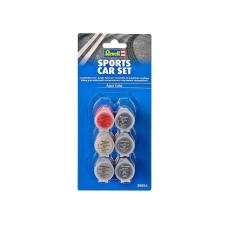 Revell Állítsa Color Aqua Color 39074 - Sports Car szett barkácsolás, építés