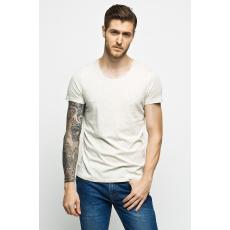 Review - T-shirt - krém