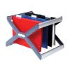 """REXEL Függőmappa tároló, műanyag, REXEL """"Crystalfile Extra Organisa Frame"""""""