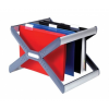 """REXEL Függőmappa tároló, műanyag, REXEL """"Crystalfile Ex"""