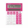 """REXEL Számológép, asztali, 12 számjegy, REXEL """"Joy"""", rózsaszín"""