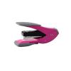 REXEL Tűzogép, 24/6, 30 lap, könnyített tűzés, lapos tűzés, REXEL Half Strip, pink-szürke