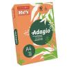 "REY Másolópapír, színes, A4, 80 g,  ""Adagio"", neon mandarin"
