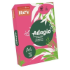 "REY Másolópapír, színes, A4, 80 g, REY ""Adagio"", intenzív fukszia"
