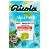 Ricola Alpin Fresh cukormentes svájci gyógynövény cukorkák 40 g