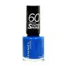 Rimmel London 60 Seconds Super Shine Nail Polish Női dekoratív kozmetikum 740 Clear Körömlakk 8ml