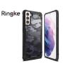 Ringke Samsung G990F Galaxy S21 ütésálló hátlap - Ringke Fusion X - camo black