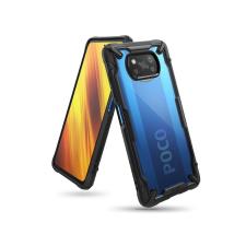 Ringke Xiaomi Poco X3 Pro/Poco X3 NFC ütésálló hátlap - Ringke Fusion X - black tok és táska