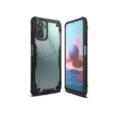 Ringke Xiaomi Redmi Note 10/Note 10S ütésálló hátlap - Ringke Fusion X - black tok és táska