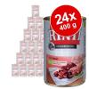RINTI ínyenceknek gazdaságos csomag 24 x 400 g - Mix: marha, szárnyasszív
