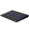 """RivaCase Notebook állvány, hűtőventilátorral, 17,3"""",  """"5557"""", fekete"""