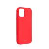 ROAR Színes zselés tok - Iphone 12 Mini barack rózsaszín telefontok