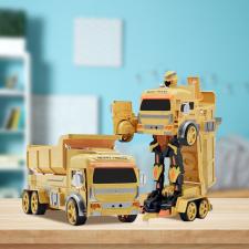 Robottá alakítható teherautó hangvezérléssel kreatív és készségfejlesztő