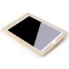 Rock Car Mounted autóülésre szerelhető bebújtatós bőr tok hálós tárolórésszel Apple iPad 2,  3,  4-hez krémszínű*