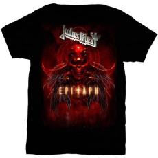 Rock Off Judas Priest Epitaph Red Horns Mens T Shirt: L