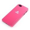 Rock Rock New Naked Shell matt műanyag hátlaptok Apple iPhone 5, 5S, SE-hez pink*
