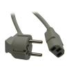 ROLINE Cable ROLINE hálózati tápkábel 1,8m L-csatlakozó
