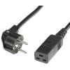 ROLINE Schuko IEC320 - C19 hálózati tápkábel