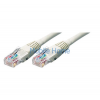 ROLINE UTP CAT5e patch kábel, szürke, 10m (XUTPC5PKAB10)