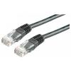 ROLINE UTP CAT6 5m (fekete) kábel