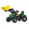 Rolly FarmTrac Deutz-Fahr 5120 játék pedálos markolós traktor