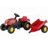 Rolly Toys pedálos traktor Junior vonattal