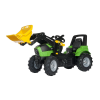 Rolly Toys Rolly FarmTrac Deutz-Fahr Agroton 7250 pedálos traktor markolóval