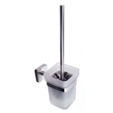 Roltechnik Quattro fali wc kefe tartó, üveg fürdőszoba kiegészítő