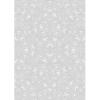 Rössler Papier GmbH and Co. KG Rössler A/4 design levél papír  gyöngyházas növényi motívumok tr. fehér