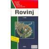 Rovinj és Porec térkép - FO 9734