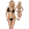 Roxana Bra & String Szett XL-XXL/Black