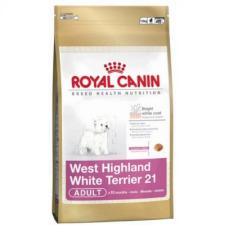Royal Canin West Highland White Terrier 21 Adult 3 kg kutyaeledel