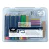 Royal Rajzkészlet 35db-os - Divatos áttetsző táskában - Royal kezdő ceruza készlet