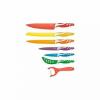 Royalty Line 10698 Késkészlet 6 részes + hámozó színes