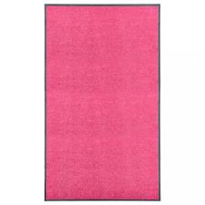 Rózsaszín kimosható lábtörlő 90 x 150 cm lakástextília