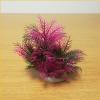 Rózsaszín-zöldes akváriumi palás műnövény (13 cm)