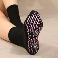 Rugalmas mágnesterápiás lábmelegítő és formáló zokni gyógyászati segédeszköz