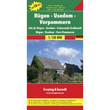 Rügen-Usedom-Vorpommern autótérkép - f&b DEU 9 térkép